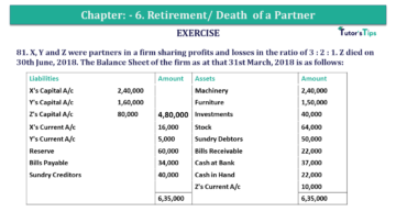 Question No.81 Chapter No.6 T.S. Grewal 2 Book 2019 Solution min min 360x203 - Chapter No. 6 - Retirement/Death of a Partner - Solution - Class 12