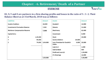 Question No.82 Chapter No.6 T.S. Grewal 2 Book 2019 Solution min min 360x203 - Chapter No. 6 - Retirement/Death of a Partner - Solution - Class 12