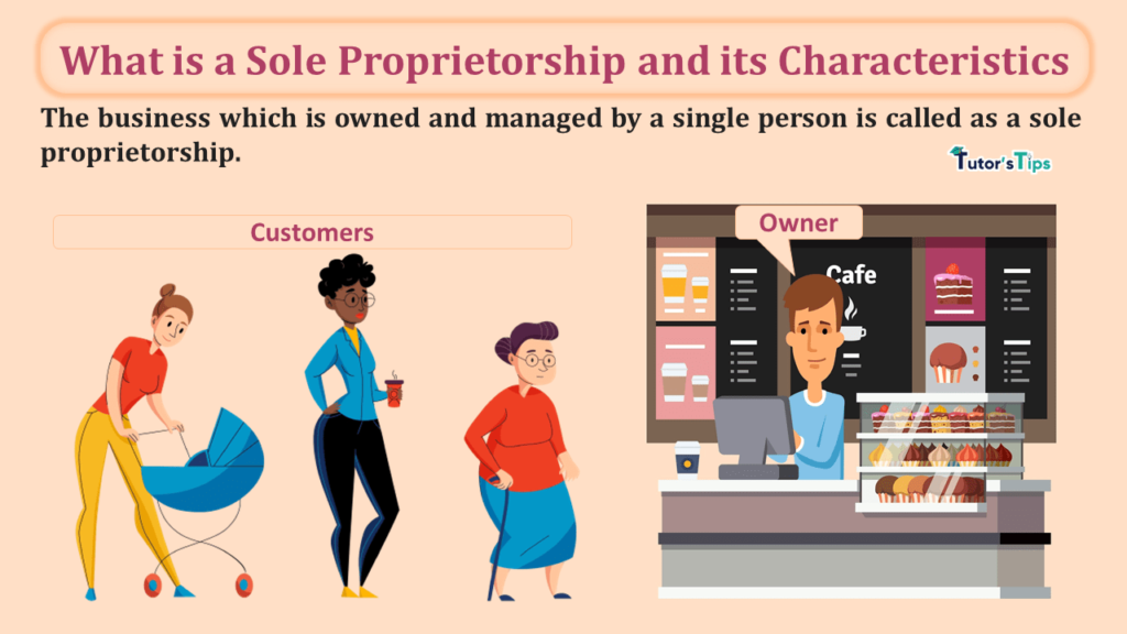 What is a Sole Proprietorship and its Characteristics-min