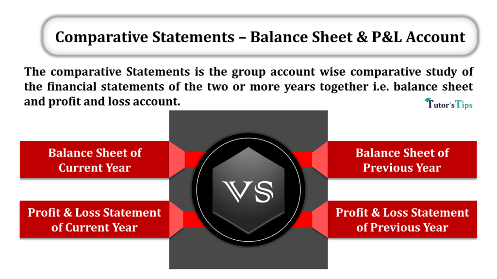 Comparative Statements – Balance Sheet PL Account min 1024x576 - Comparative Statements - Balance Sheet & Profit and Loss