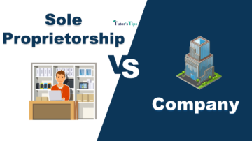 Diffrence between Sole Proprietorship and Company min 360x202 - Differences - Business Studies