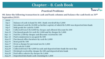 Q 08 CH 8 USHA 1 Book 2020 Solution min 360x203 - Chapter No. 8 - Cash Book - USHA Publication Class +1 - Solution