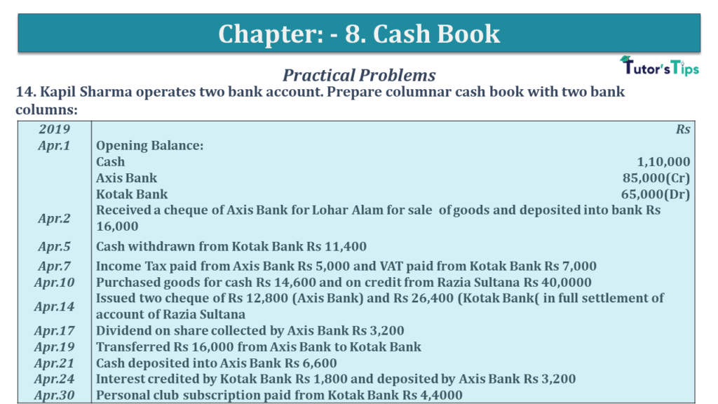 Question No 14 Chapter No 8