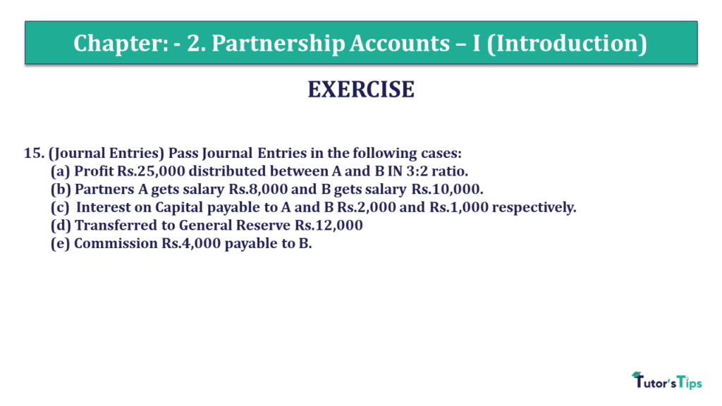 Question 15 Chapter 2 of +2- Part-