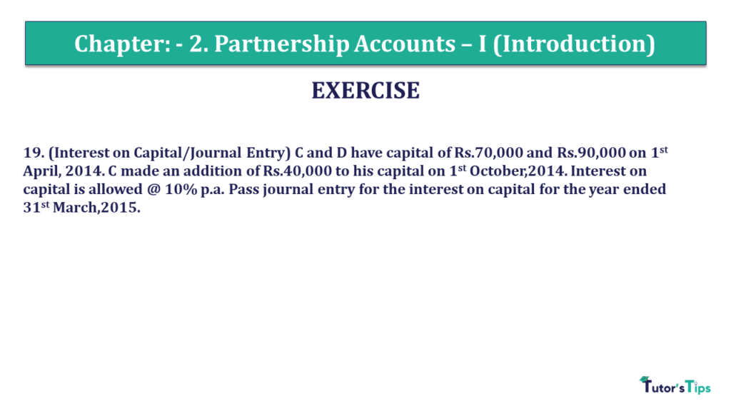 Question 19 Chapter 2 of +2- Part-