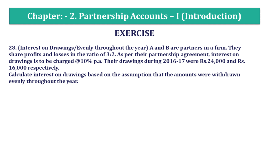 Question 28 Chapter 2 of +2- Part-