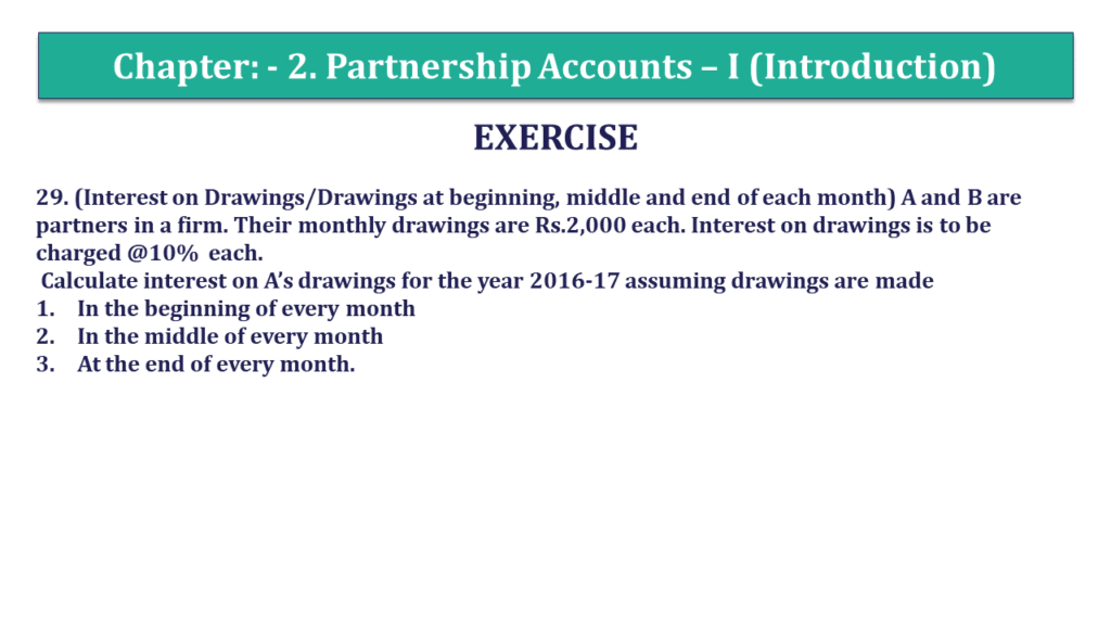 Question 29 Chapter 2 of +2- Part-