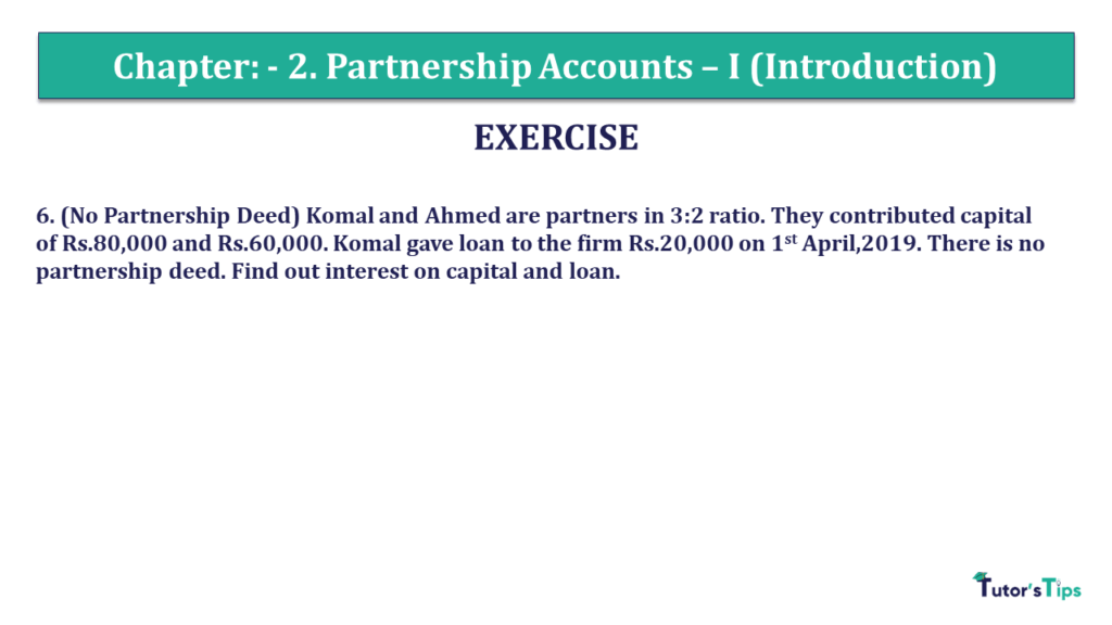 Question 07 Chapter 2 of +2- Part-