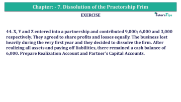 Question No.44 Chapter No.7 T.S. Grewal 2 Book 2019 Solution min min 360x203 - Chapter No. 7 - Dissolution of a Partnership Firm - Solution - Class 12