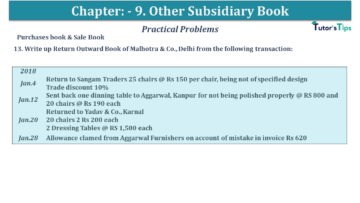Q 13 CH 9 USHA 1 Book 2020 Solution min 360x203 - Chapter No. 9 - Other Subsidiary Books - USHA Publication Class +1 - Solution