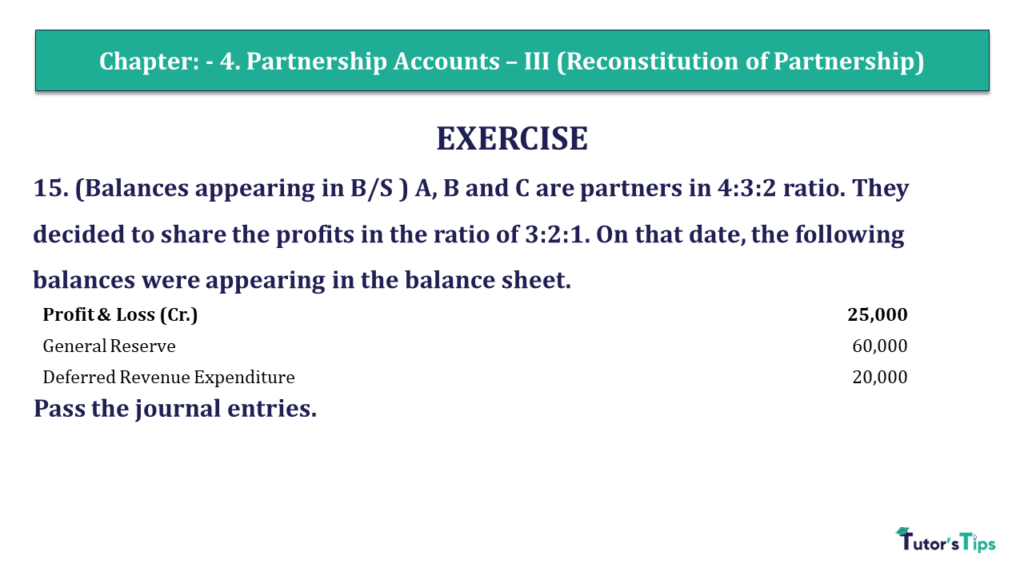 Question 15 Chapter 4 of +2- Part-