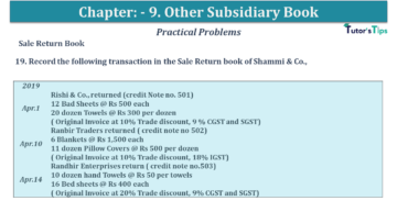 Q 19 CH 9 USHA 1 Book 2020 Solution min 360x203 - Chapter No. 9 - Other Subsidiary Books - USHA Publication Class +1 - Solution