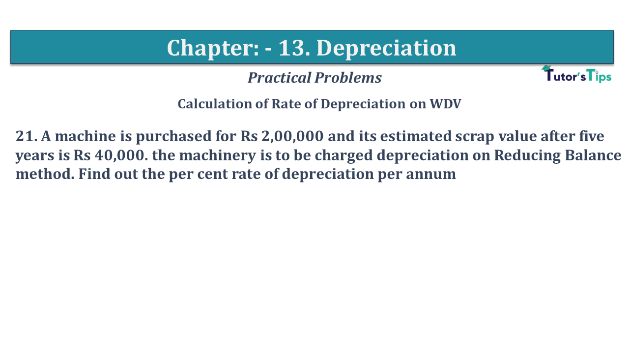 Question No 21 Chapter No 13