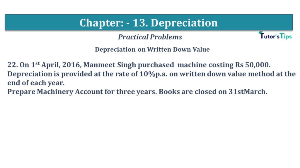 Question No 22 Chapter No 13