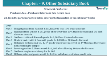 Q 22 CH 9 USHA 1 Book 2020 Solution min 360x203 - Chapter No. 9 - Other Subsidiary Books - USHA Publication Class +1 - Solution