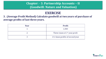 Q 3 CH 3 Usha 2 Book 2018 Solution min 360x203 - Chapter No. 3 - Partnership Accounts - II (Goodwill: Nature and Valuation)- USHA Publication Class +2 - Solution