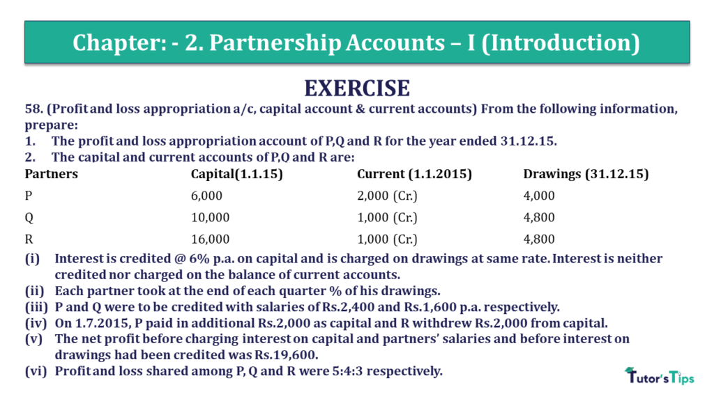 Question 58 Chapter 2 of +2- Part-