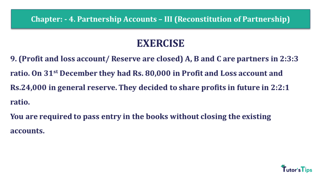 Question 09 Chapter 4 of +2- Part-