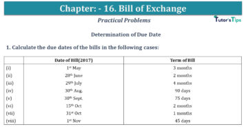 Q 01 CH 15 USHA 1 Book 2020 Solution min 360x203 - Chapter No. 15 - Bills of Exchange - USHA Publication Class +1 - Solution