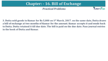 Q 03 CH 15 USHA 1 Book 2020 Solution min 360x203 - Chapter No. 15 - Bills of Exchange - USHA Publication Class +1 - Solution