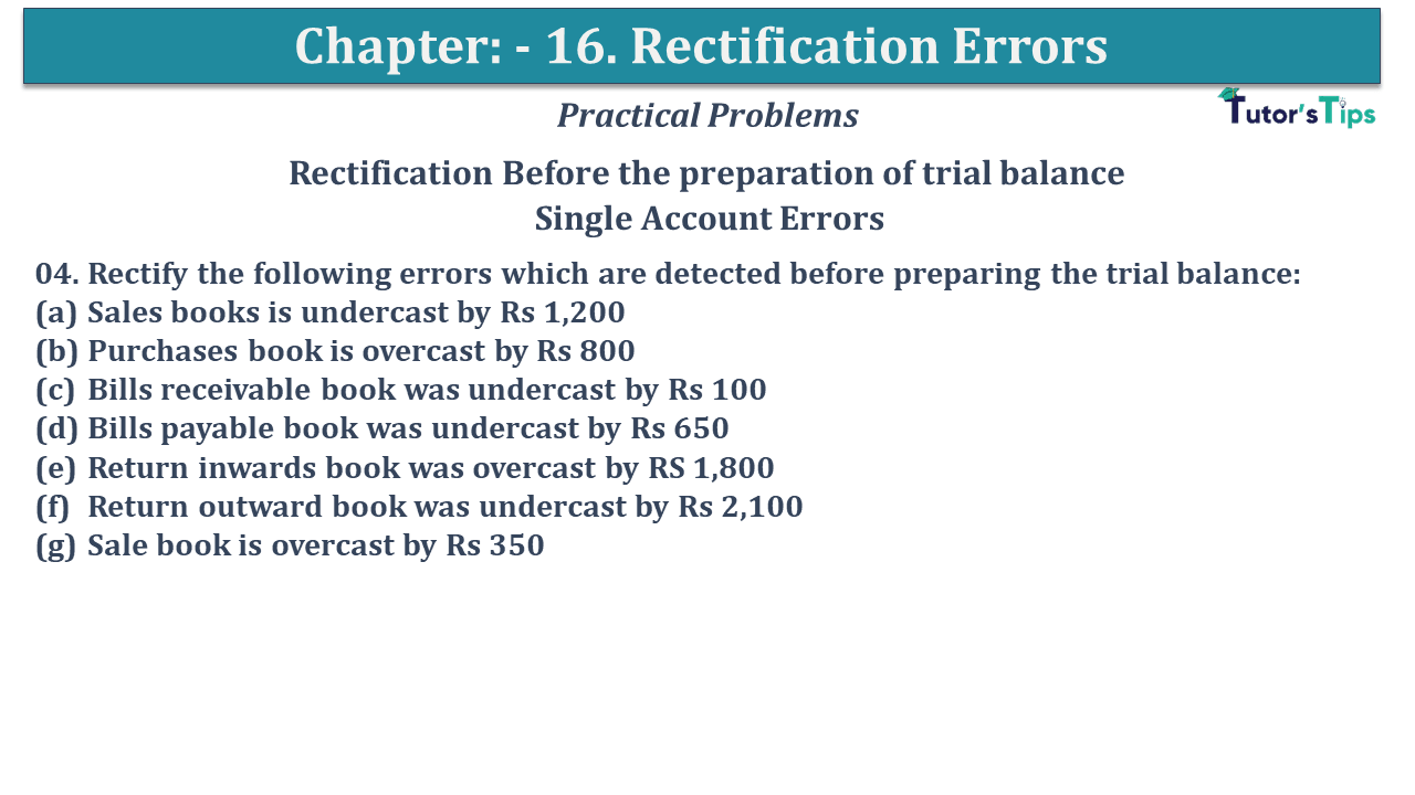 Question No 04 Chapter No 16