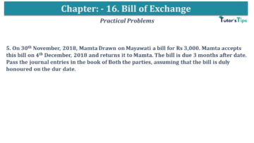 Q 05 CH 15 USHA 1 Book 2020 Solution min 360x203 - Chapter No. 15 - Bills of Exchange - USHA Publication Class +1 - Solution
