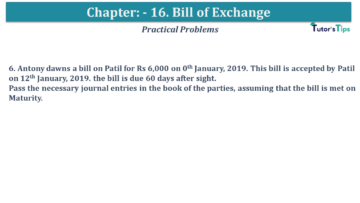 Q 06 CH 15 USHA 1 Book 2020 Solution min 360x203 - Chapter No. 15 - Bills of Exchange - USHA Publication Class +1 - Solution