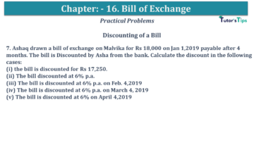 Q 07 CH 15 USHA 1 Book 2020 Solution min 360x203 - Chapter No. 15 - Bills of Exchange - USHA Publication Class +1 - Solution