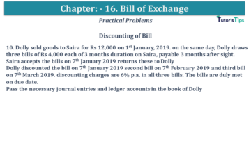 Q 10 CH 15 USHA 1 Book 2020 Solution min 360x203 - Chapter No. 15 - Bills of Exchange - USHA Publication Class +1 - Solution