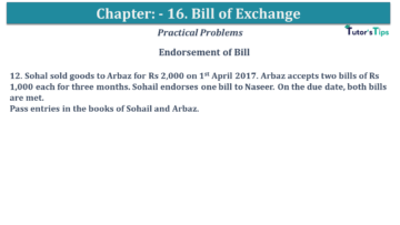 Q 12 CH 15 USHA 1 Book 2020 Solution min 360x203 - Chapter No. 15 - Bills of Exchange - USHA Publication Class +1 - Solution