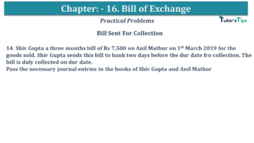 Q 14 CH 15 USHA 1 Book 2020 Solution min 360x203 - Chapter No. 15 - Bills of Exchange - USHA Publication Class +1 - Solution