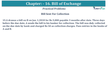 Q 15 CH 15 USHA 1 Book 2020 Solution min 360x203 - Chapter No. 15 - Bills of Exchange - USHA Publication Class +1 - Solution