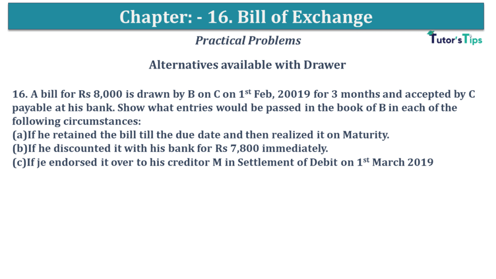 Question No 16 Chapter No 15
