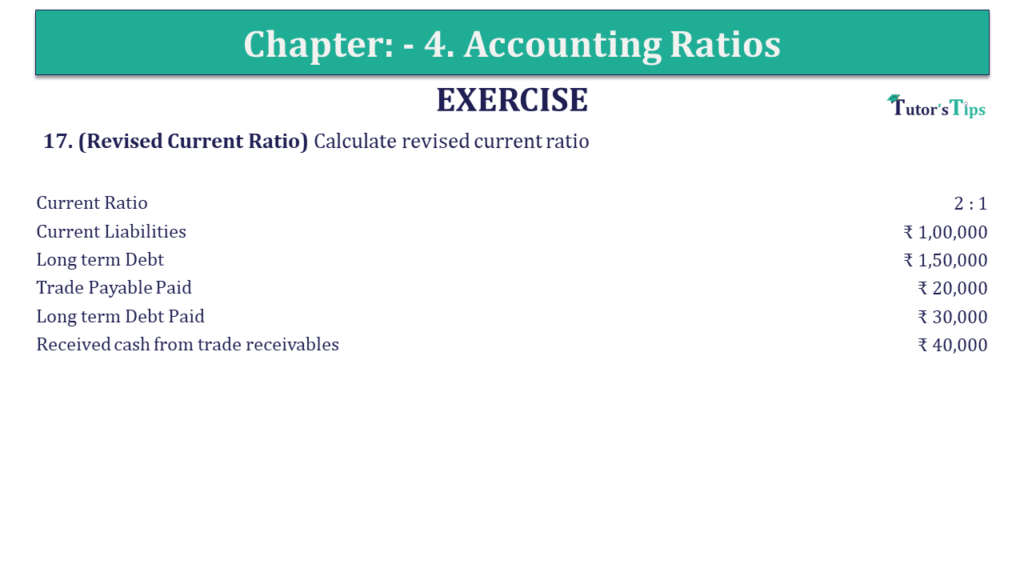 Question 17 Chapter 4 of +2-B