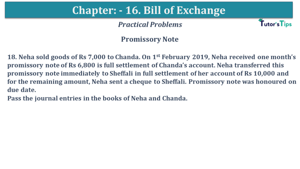 Question No 18 Chapter No 15