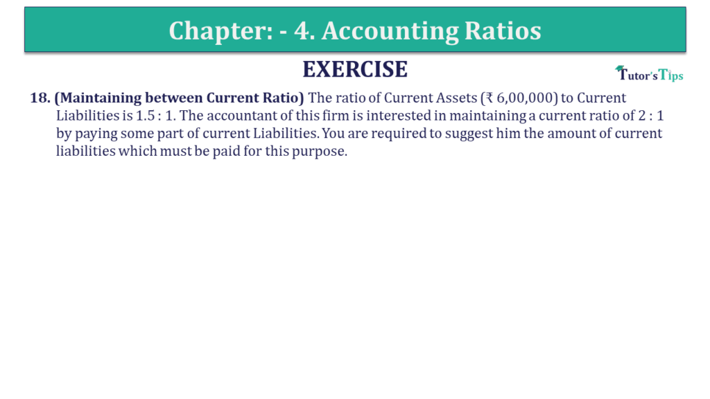 Question 18 Chapter 4 of +2-B