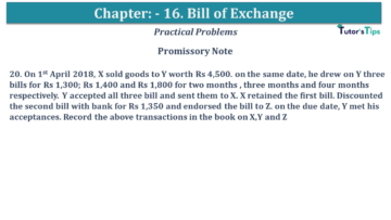 Q 20 CH 15 USHA 1 Book 2020 Solution min 360x203 - Chapter No. 15 - Bills of Exchange - USHA Publication Class +1 - Solution