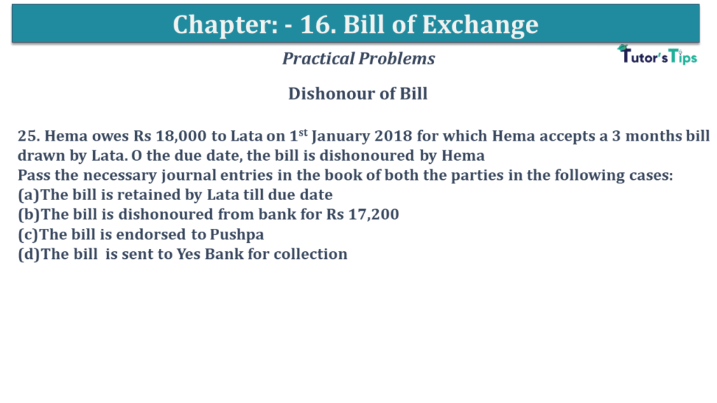 Question No 25 Chapter No 15