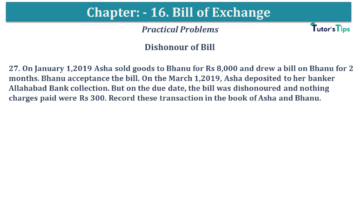 Q 27 CH 15 USHA 1 Book 2020 Solution min 360x203 - Chapter No. 15 - Bills of Exchange - USHA Publication Class +1 - Solution