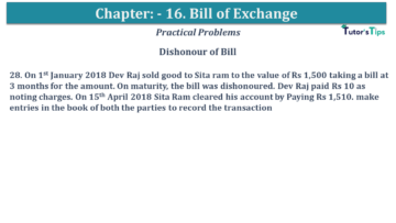 Q 28 CH 15 USHA 1 Book 2020 Solution min 360x203 - Chapter No. 15 - Bills of Exchange - USHA Publication Class +1 - Solution