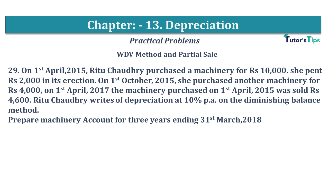 Question No 29 Chapter No 13