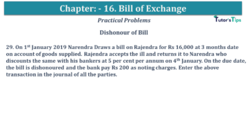 Q 29 CH 15 USHA 1 Book 2020 Solution min 360x203 - Chapter No. 15 - Bills of Exchange - USHA Publication Class +1 - Solution