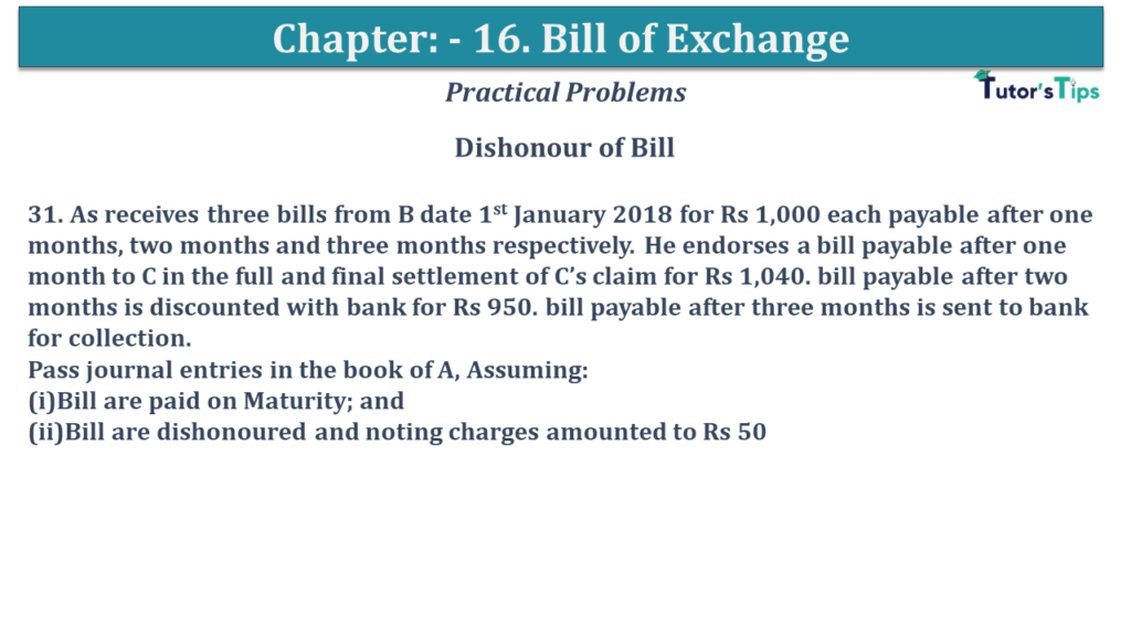 Question No 31 Chapter No 15