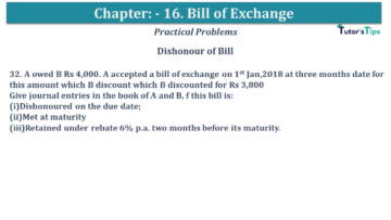 Q 32 CH 15 USHA 1 Book 2020 Solution min 360x203 - Chapter No. 15 - Bills of Exchange - USHA Publication Class +1 - Solution