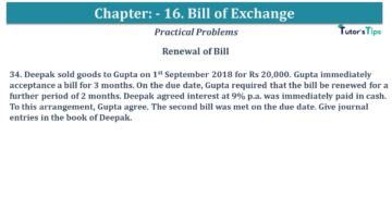 Q 34 CH 15 USHA 1 Book 2020 Solution min 360x203 - Chapter No. 15 - Bills of Exchange - USHA Publication Class +1 - Solution