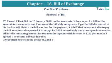Q 37 CH 15 USHA 1 Book 2020 Solution min 360x203 - Chapter No. 15 - Bills of Exchange - USHA Publication Class +1 - Solution