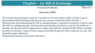 Q 38 CH 15 USHA 1 Book 2020 Solution min 360x203 - Chapter No. 15 - Bills of Exchange - USHA Publication Class +1 - Solution