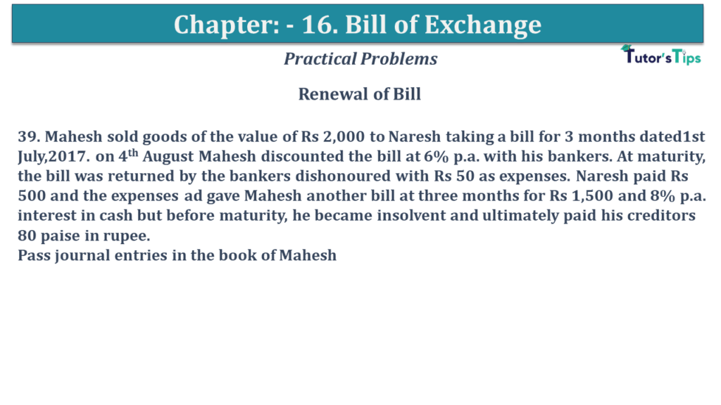 Question No 39 Chapter No 15