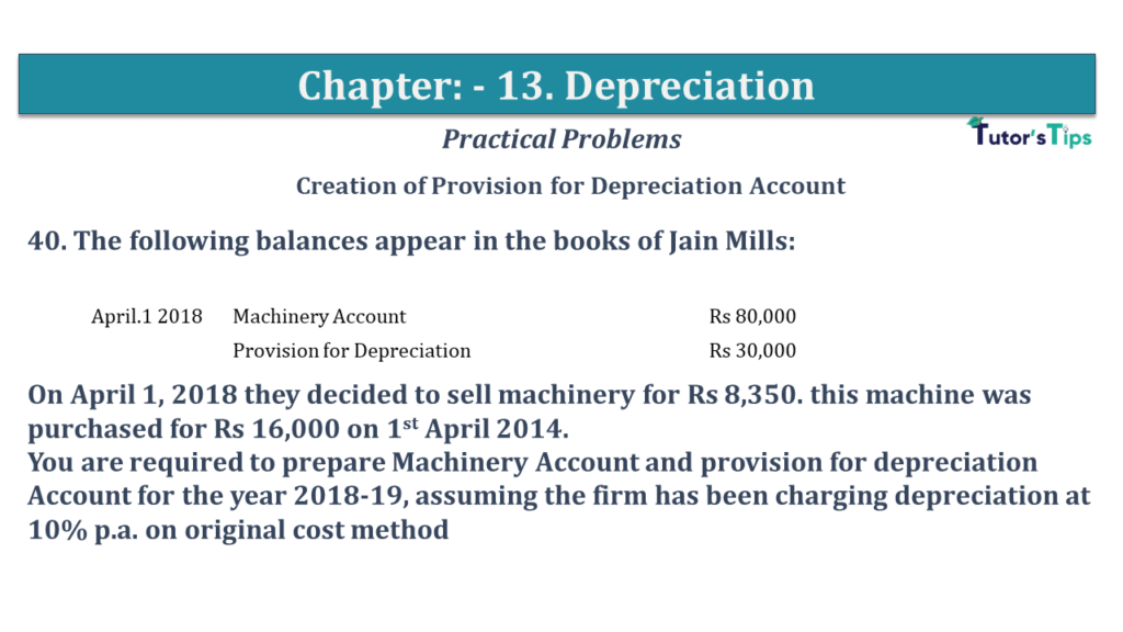 Question No 40 Chapter No 13