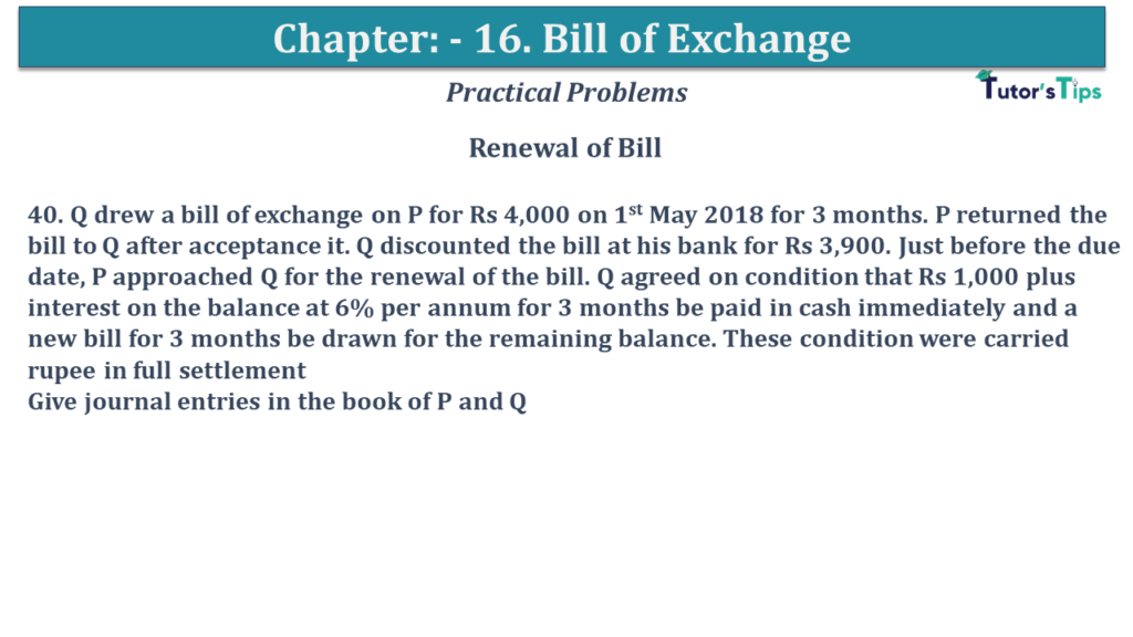 Question No 40 Chapter No 15